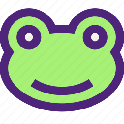 animals, cute, frog, kids, lizard, nature, pets icon