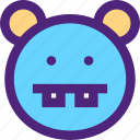 animals, cute, hippo, hippopotamus, kids, nature, pets icon