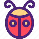 animals, bug, cute, kids, lady, nature, pets icon