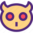 animals, cute, kids, nature, owl, pets icon