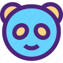 animals, cute, kids, nature, panda, pets icon