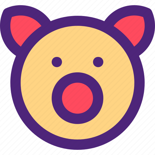 animals, cute, kids, nature, pets, pig icon