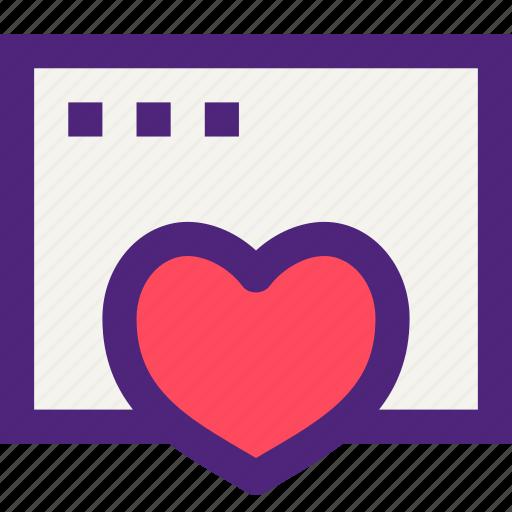 app, applications, development, favorites, page, technology, web icon