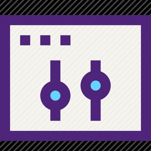 app, applications, development, page, settings, technology, web icon