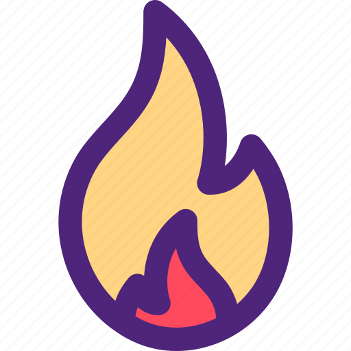 activity, camping, fire, hiking, outdoor, wild icon