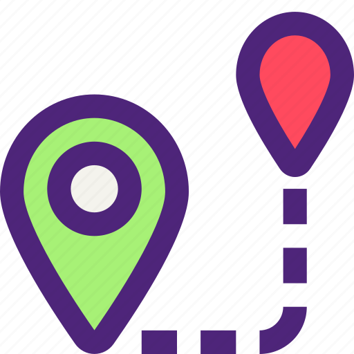 activity, camping, directions, hiking, map, outdoor, wild icon
