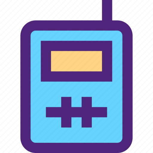 activity, camping, hiking, outdoor, talkie, walkie, wild icon