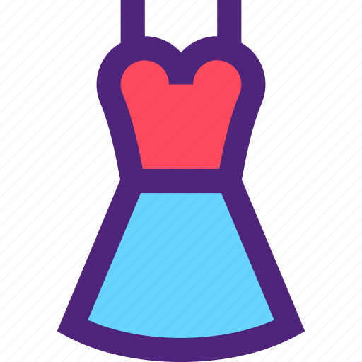 apparel, clothes, clothing, dress, outfit icon