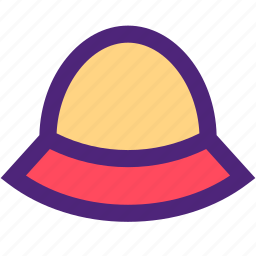 apparel, clothes, clothing, dress, fishing, hat, outfit icon