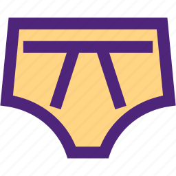 apparel, clothes, clothing, dress, men, outfit, pants, underwear icon