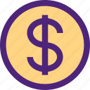 business, commerce, dollar, economics, marketing, money, trade icon