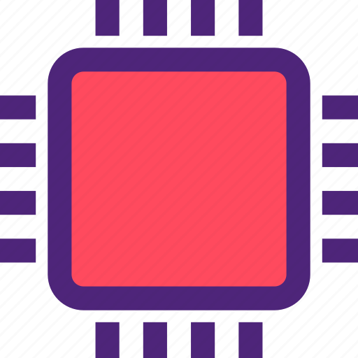 chipset, computers, cpu, digital, electronic, machine, technology icon
