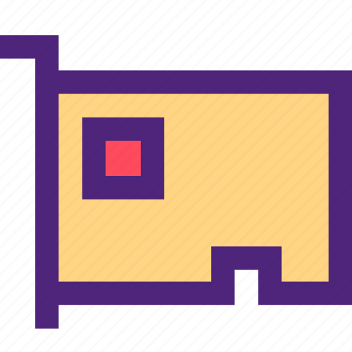 card, computers, digital, electronic, external, machine, technology icon