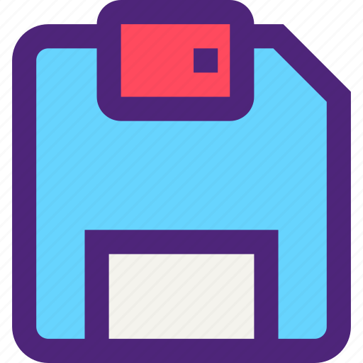 computers, digital, disk, electronic, floppy, machine, technology icon