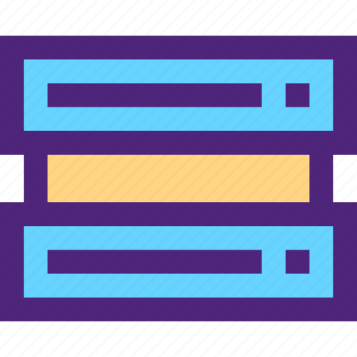 computers, digital, electronic, machine, server, technology icon