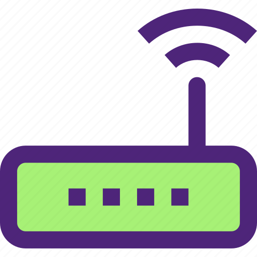 computers, digital, electronic, machine, router, technology, wifi icon