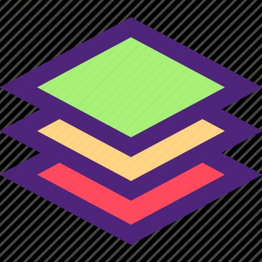 composition, concept, design, draw, layers, web icon