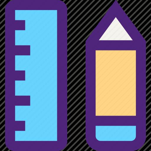 composition, concept, design, draw, pencil, ruler, tool, web icon