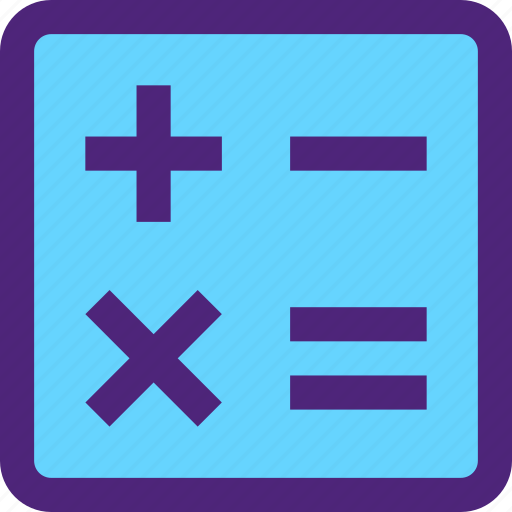 calculator, culture, education, learn, math, school, study icon