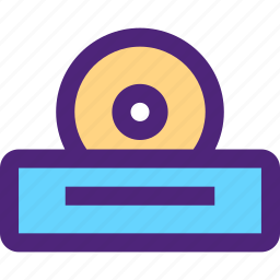 blueray, components, devices, dvd, electronics, gadgets, player, systems icon