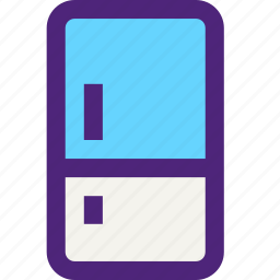 components, devices, electronics, fridge, gadgets, systems icon