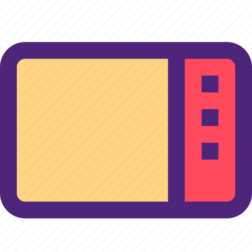 components, devices, electronics, gadgets, microwave, systems icon