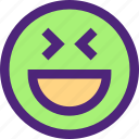 chat, emoji, emoticons, expression, face, happy icon