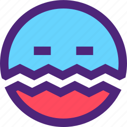 chat, disease, emoji, emoticons, expression, face, ill icon