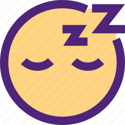 chat, emoji, emoticons, expression, face, sleeping icon