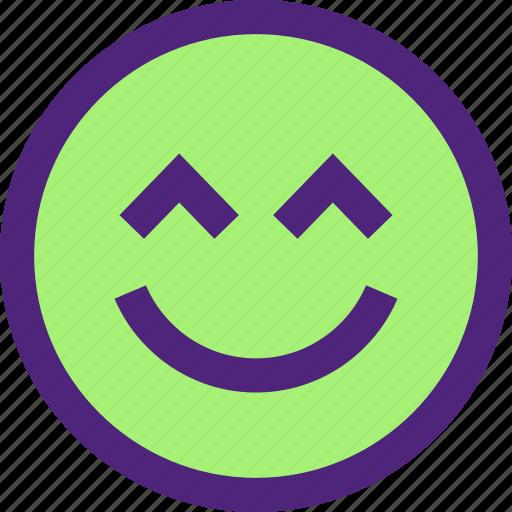 chat, emoji, emoticons, expression, face, kiki, smile icon