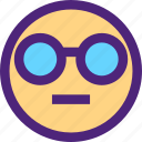 chat, emoji, emoticons, expression, face, sunglasses icon