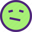 chat, emoji, emoticons, expression, face, upset icon
