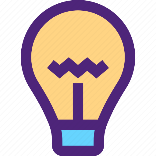 bulb, ecology, efficiency, electricity, energy, force, lamp icon