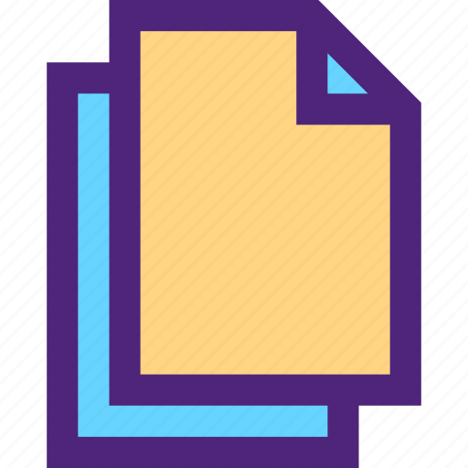 archive, blank, computer, digital, document, files icon