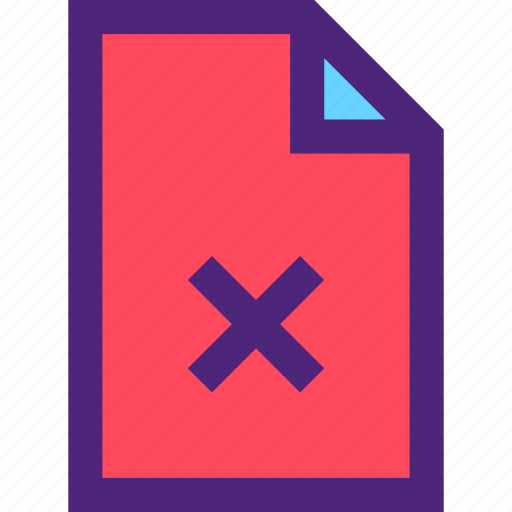 archive, computer, delete, digital, document, file, files icon