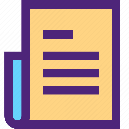 archive, computer, digital, document, file, files, long icon