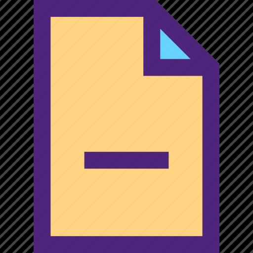 archive, computer, digital, document, file, files, remove icon