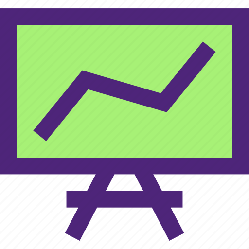 business, charts, commerce, economics, finance, money icon