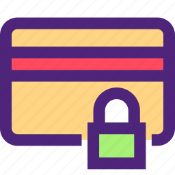 business, card, commerce, economics, finance, money, secure icon