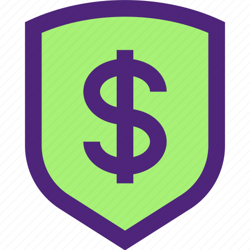 business, commerce, economics, finance, money, security, shield icon