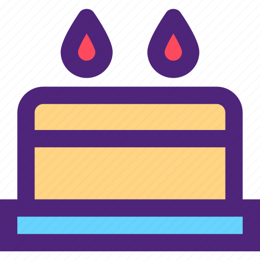 birthday, cake, diet, food, grocery, meal, snack icon