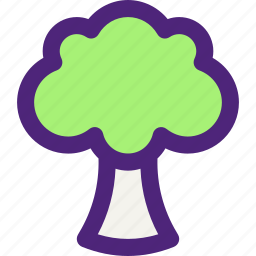 broccoli, diet, food, grocery, meal, snack icon