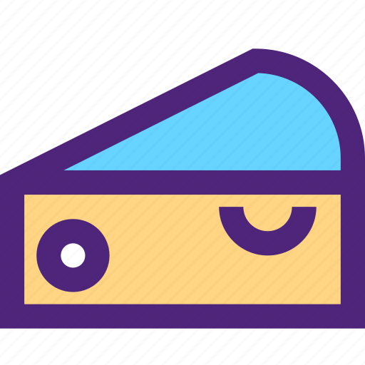 cheese, diet, food, grocery, meal, slice, snack icon