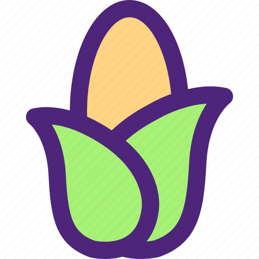 corn, diet, food, grocery, meal, snack icon