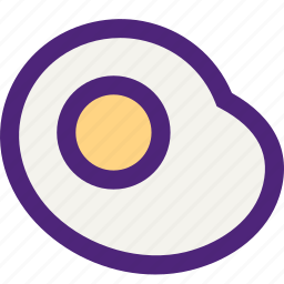 diet, egg, food, grocery, meal, snack icon