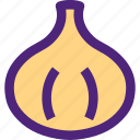 diet, food, garlic, grocery, meal, snack icon