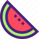 diet, food, grocery, meal, slice, snack, watermelon icon