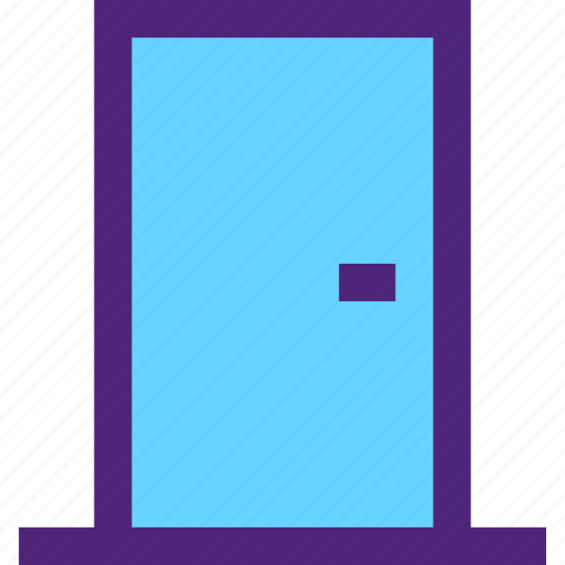 appliance, devices, door, furniture, gadgets, goods icon