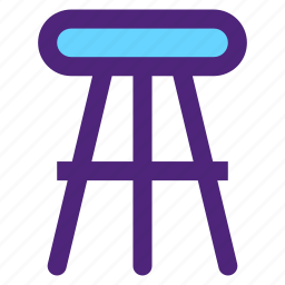 appliance, chair, devices, furniture, gadgets, goods, high icon