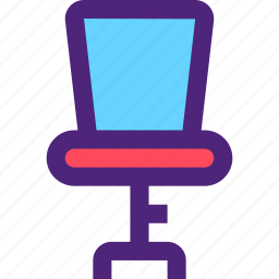 appliance, chair, devices, furniture, gadgets, goods, office icon